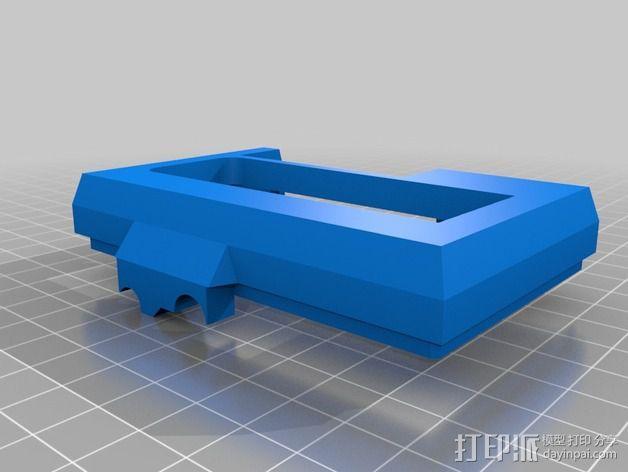 树莓派保护外壳 3D模型  图9