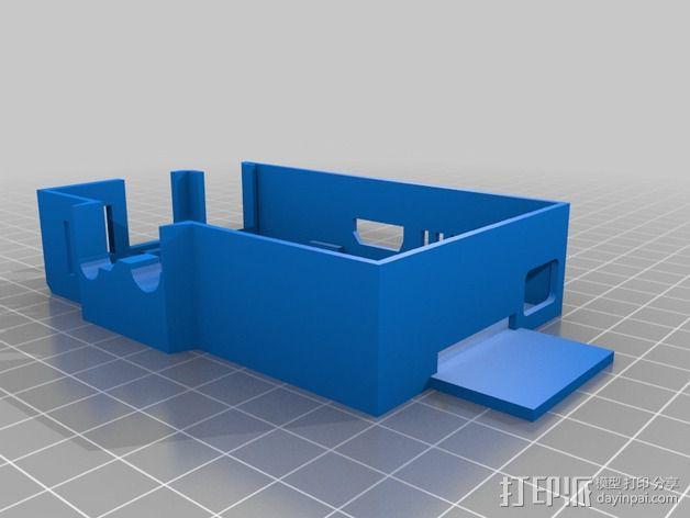树莓派保护外壳 3D模型  图8