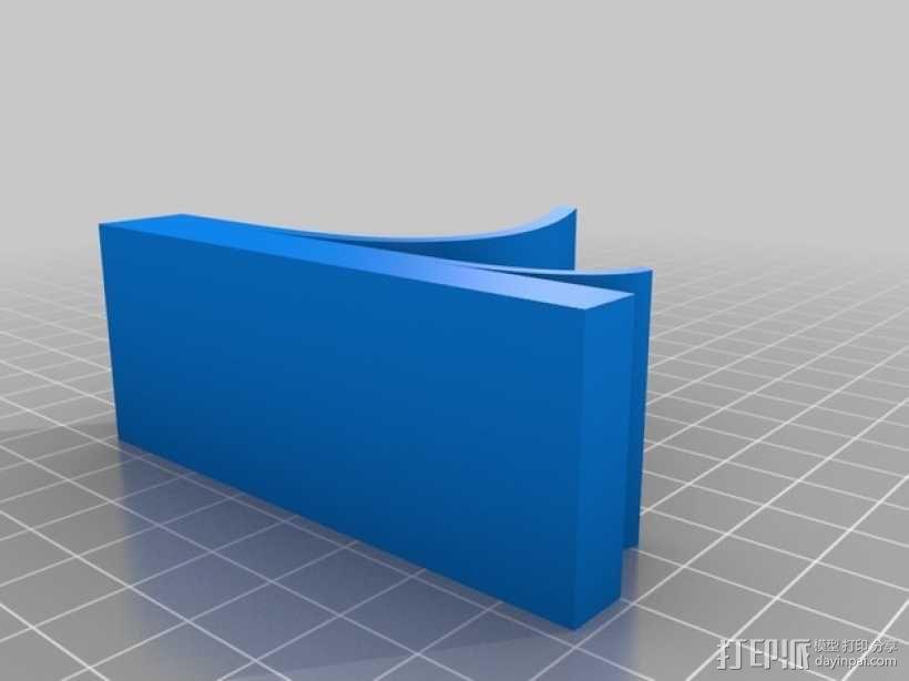 手机架 手机支撑架 3D模型  图3