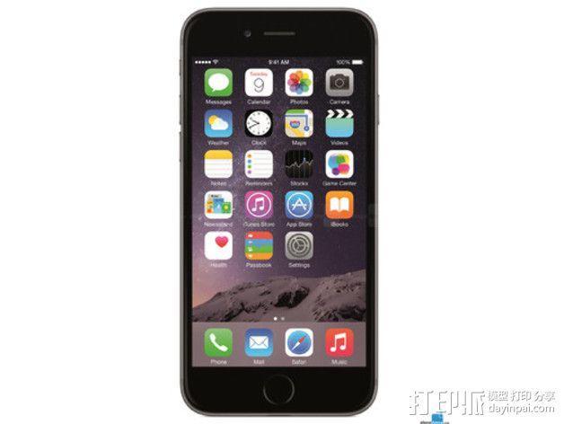 iPhone 6手机模型 3D模型  图2