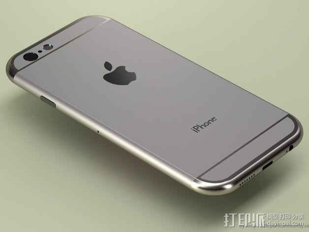 iPhone 6手机模型 3D模型  图6
