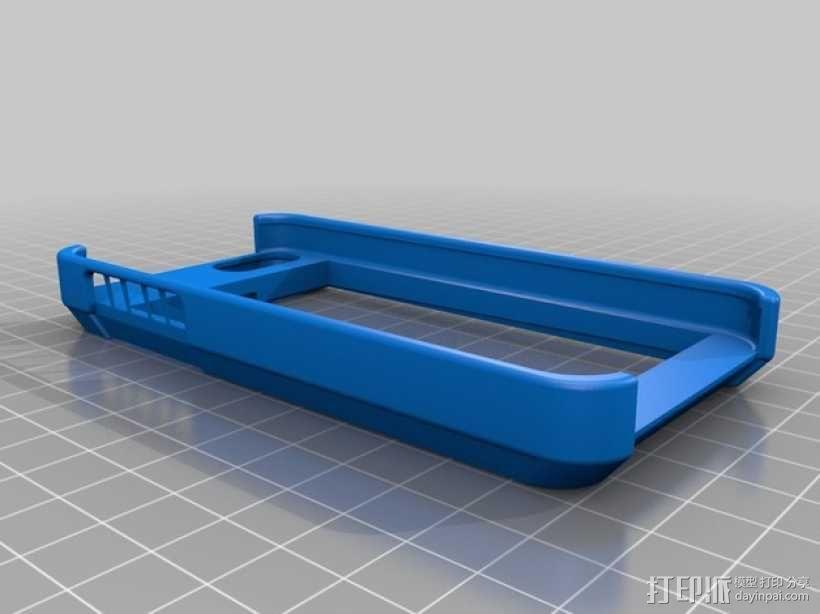 iPhone5钱夹式手机套 3D模型  图1