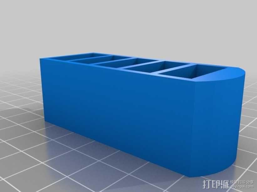 USB收纳盒 3D模型  图1