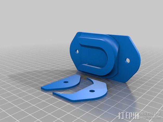 相机固定架 3D模型  图4