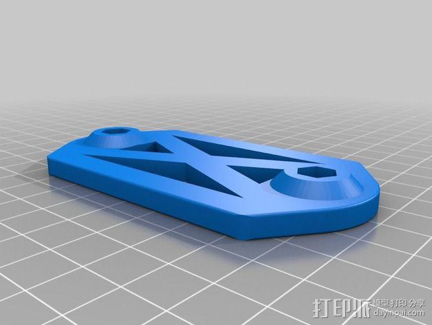 相机固定架 3D模型  图2