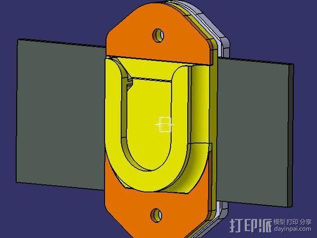 相机固定架 3D模型  图7