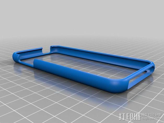 木质 iPod Touch保护壳 3D模型  图2