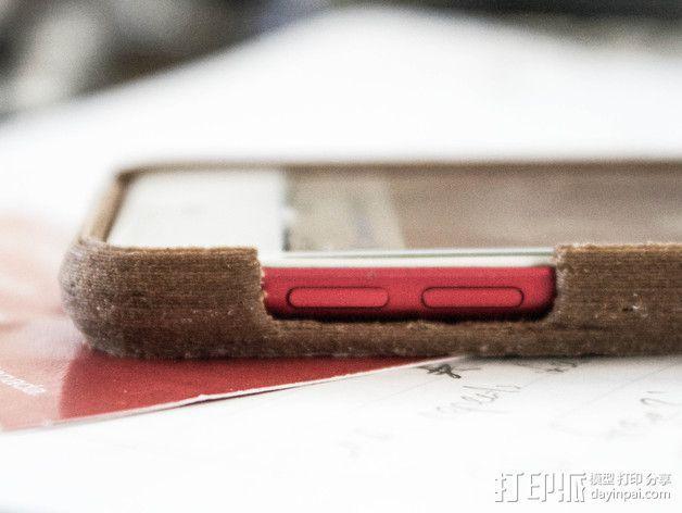 木质 iPod Touch保护壳 3D模型  图3