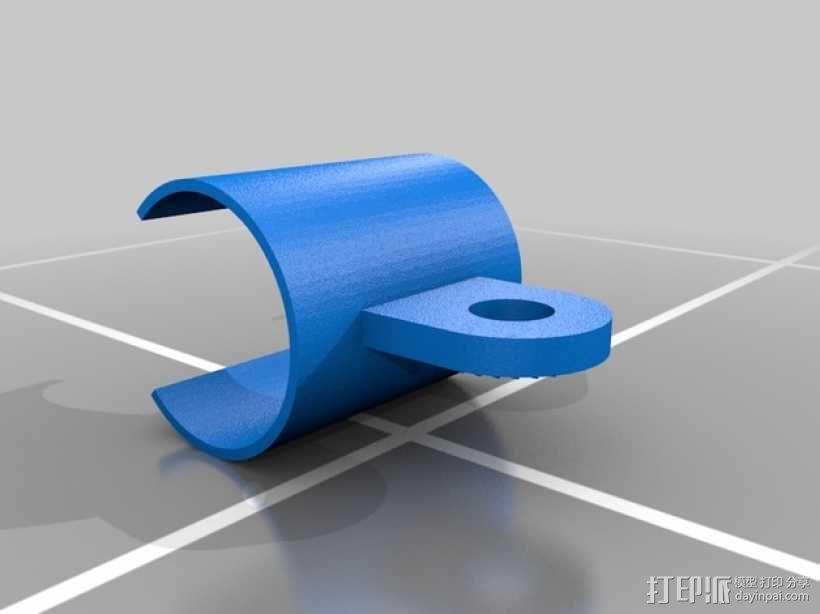 麦克风支架 3D模型  图4