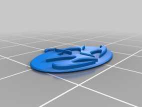 刺客标志钥匙坠 3D模型