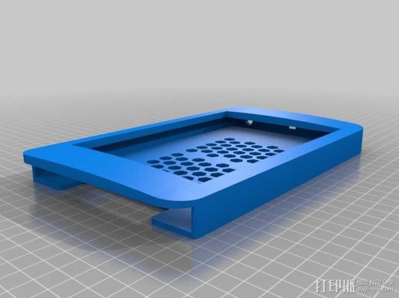 Nexus 7平板电脑保护框 3D模型  图1