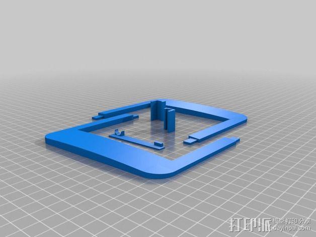 Nexus 7平板电脑保护框 3D模型  图2
