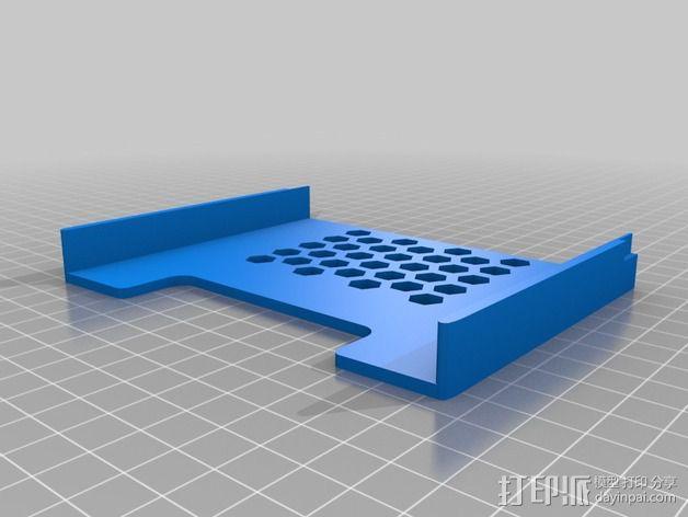 Nexus 7平板电脑保护框 3D模型  图3