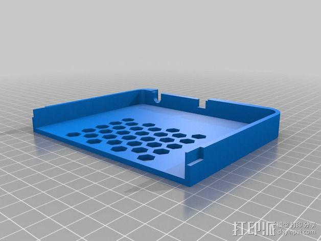 Nexus 7平板电脑保护框 3D模型  图4