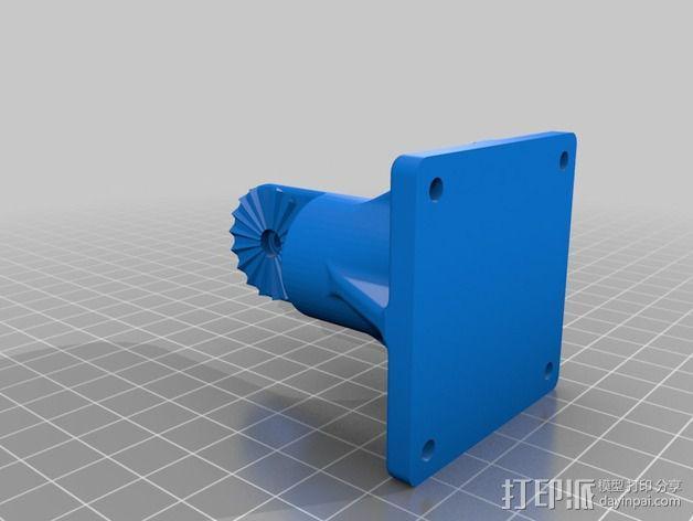 扩音器底座 3D模型  图3
