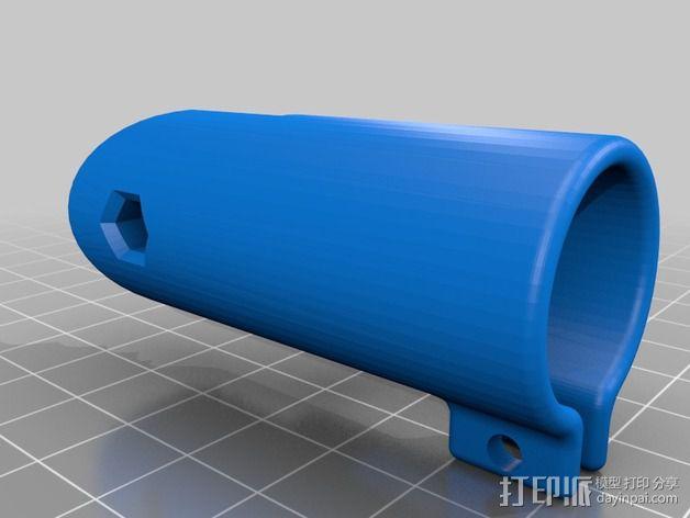 扩音器底座 3D模型  图4