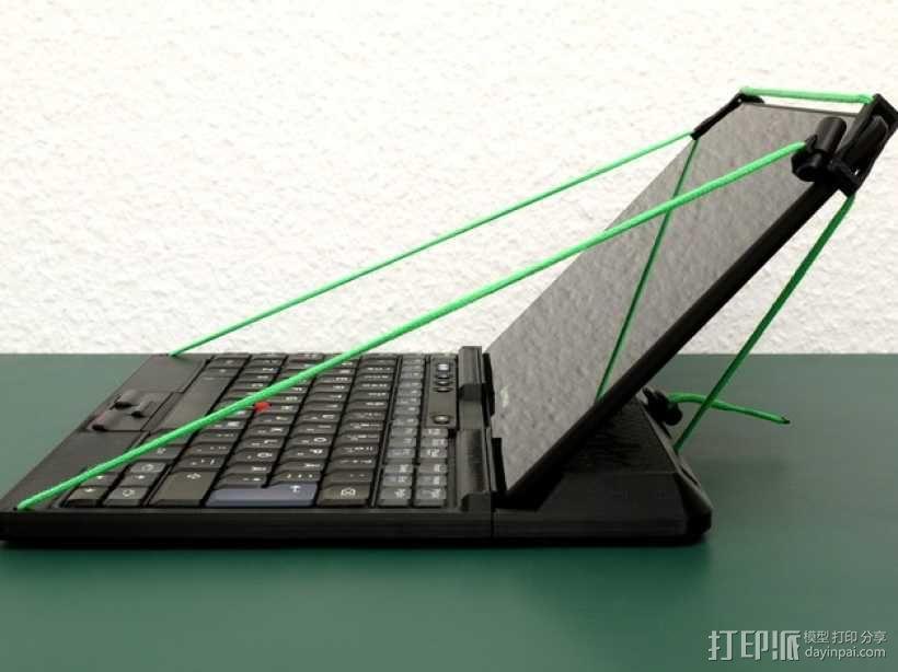 ThinkPad平板电脑支撑架 3D模型  图2