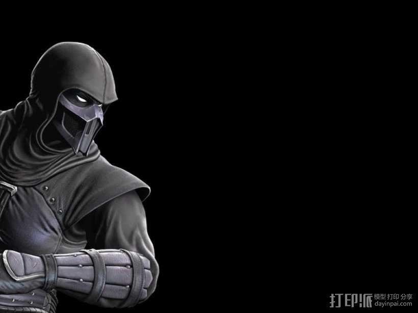 格斗之王面具 3D模型  图1
