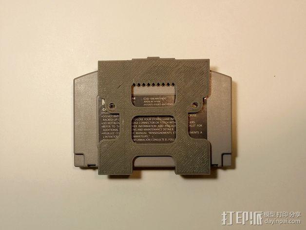 悬挂式电子游戏带收纳器 3D模型  图3