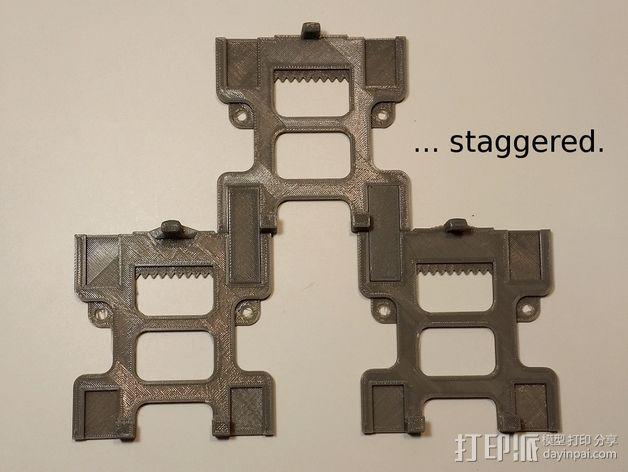 悬挂式电子游戏带收纳器 3D模型  图5
