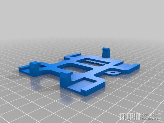悬挂式电子游戏带收纳器 3D模型  图6