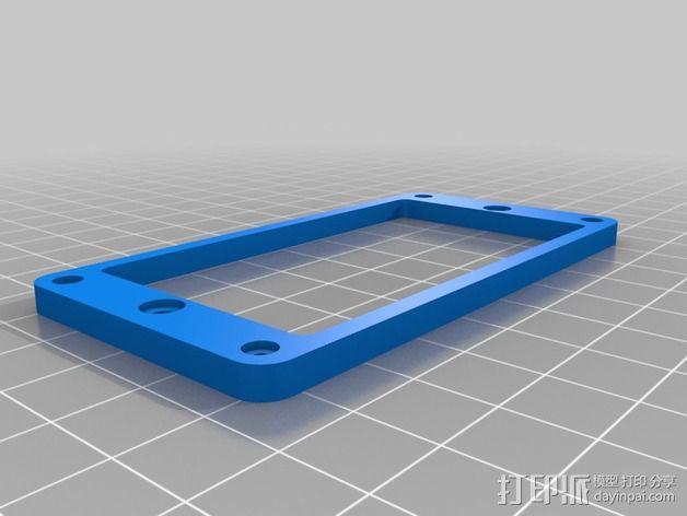 拾波环 3D模型  图2