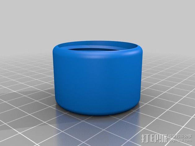 GoPro相机旋转支架 3D模型  图4
