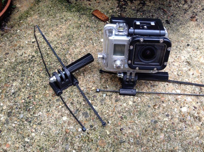 相机固定座连接器 3D模型  图1
