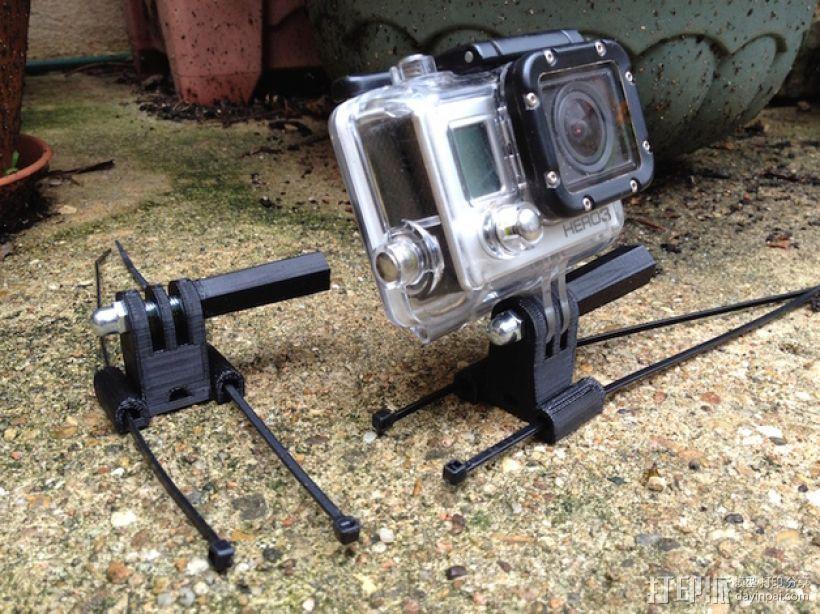 相机固定座连接器 3D模型  图6
