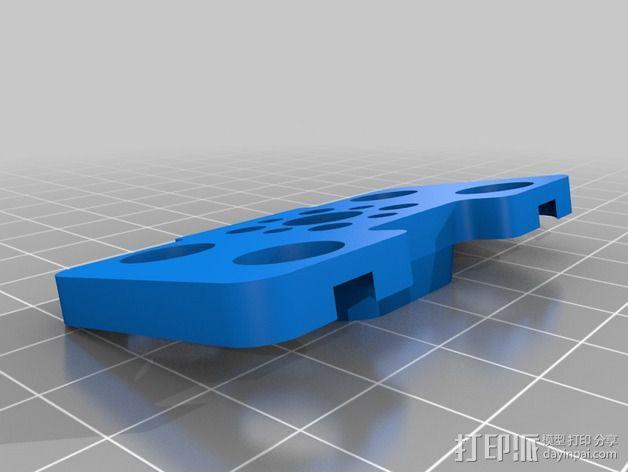 手持式平衡环支架 3D模型  图3