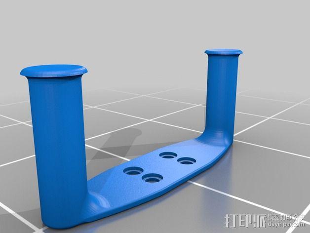 手持式平衡环支架 3D模型  图2