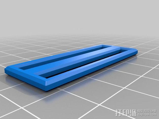 胸挂式相机架 3D模型  图6