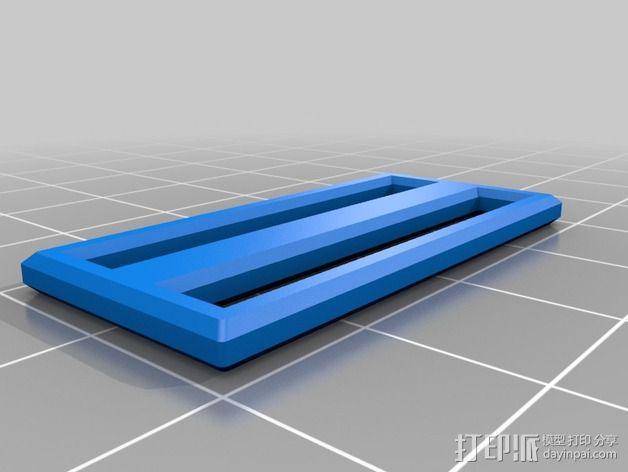 胸挂式相机架 3D模型  图5