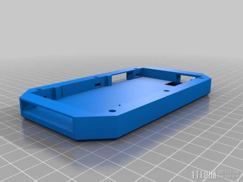 Iphone5C手机保护外壳 3D模型  图2