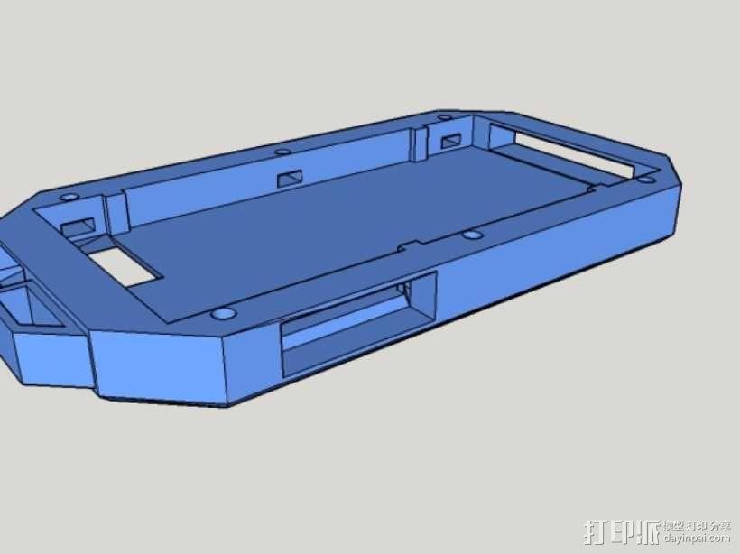 Iphone5C手机保护外壳 3D模型  图1
