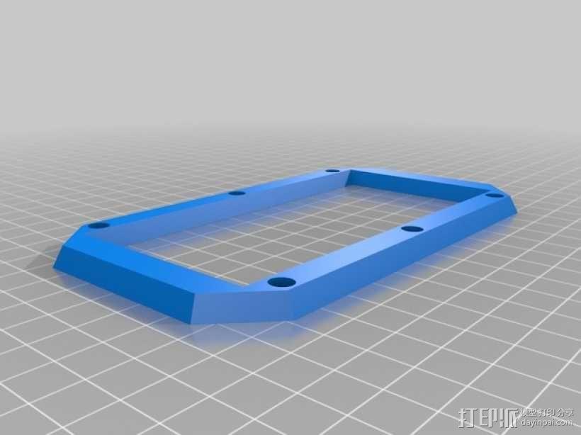 Iphone5C手机保护外壳 3D模型  图3