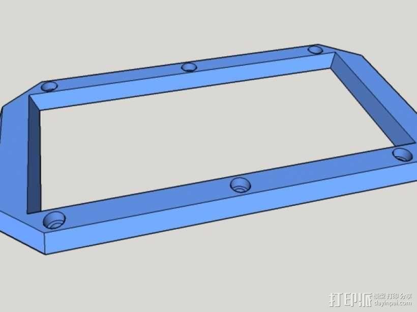 Iphone5C手机保护外壳 3D模型  图4