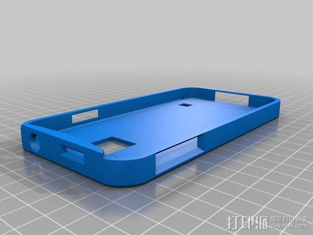 三星 galaxy s5 手机外壳 3D模型  图2