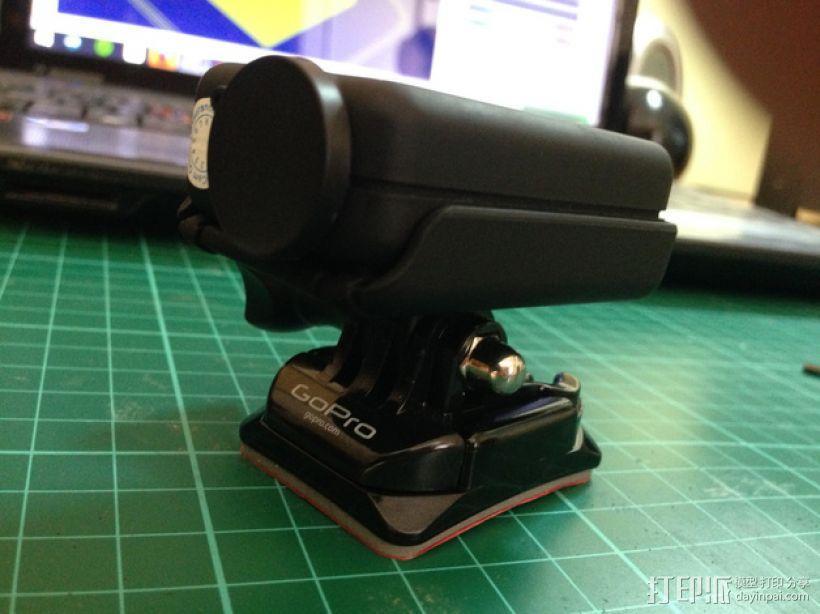 Gopro相机支撑架 底座 3D模型  图1