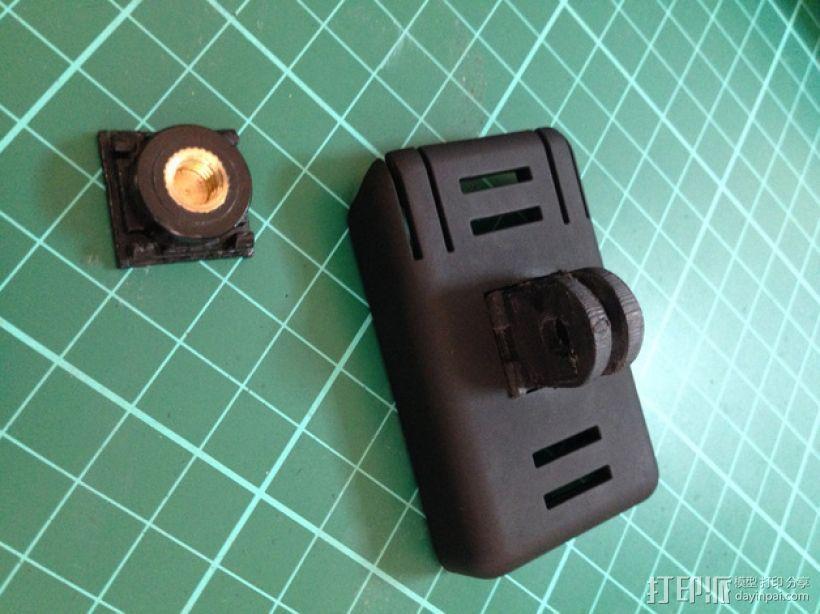 Gopro相机支撑架 底座 3D模型  图3