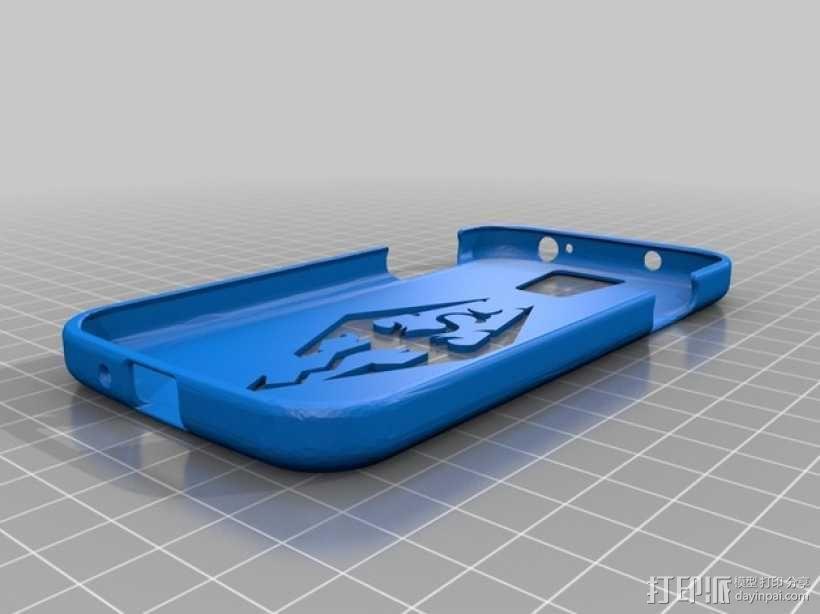 三星Galaxy S4手机保护壳 3D模型  图1
