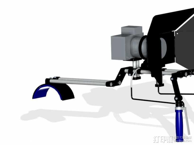 相机固定装置 相机架 3D模型  图3