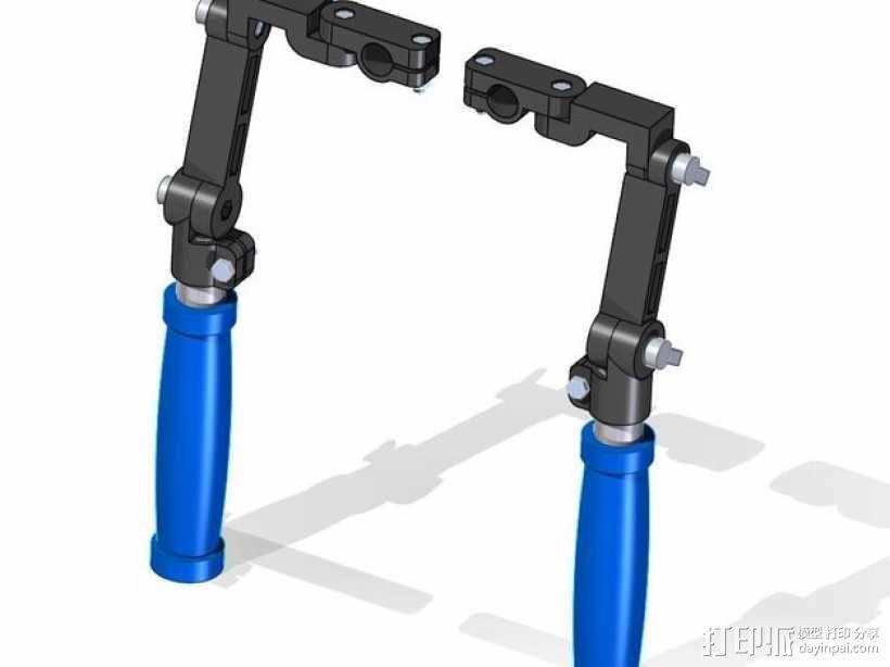 相机固定装置 相机架 3D模型  图4