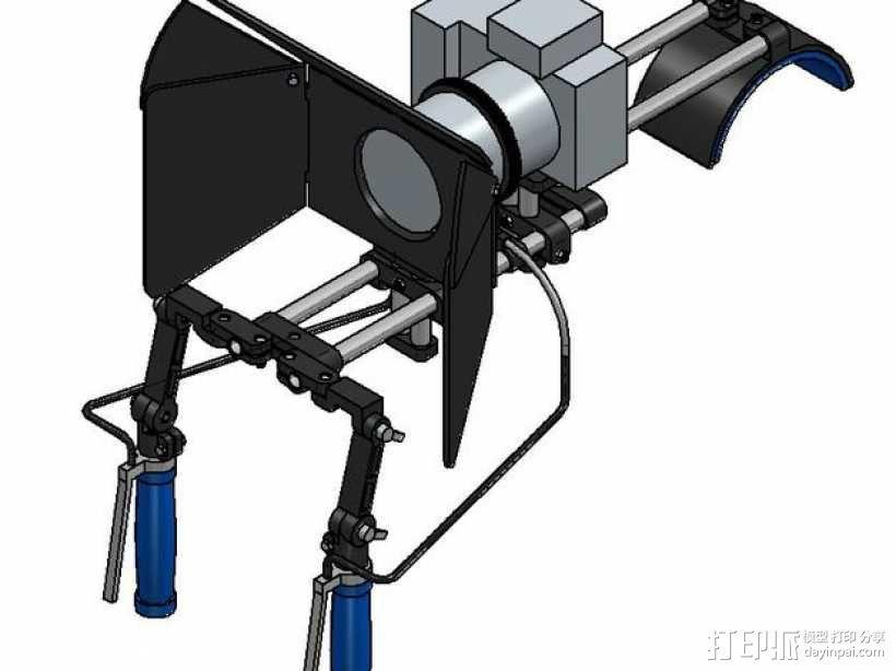 相机固定装置 相机架 3D模型  图2