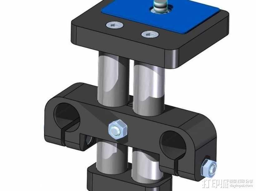 相机固定装置 相机架 3D模型  图6