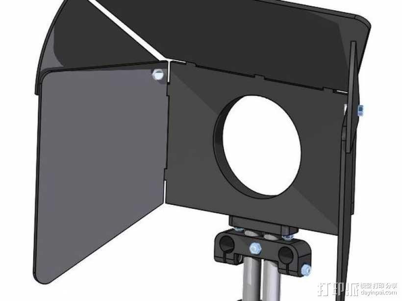 相机固定装置 相机架 3D模型  图8