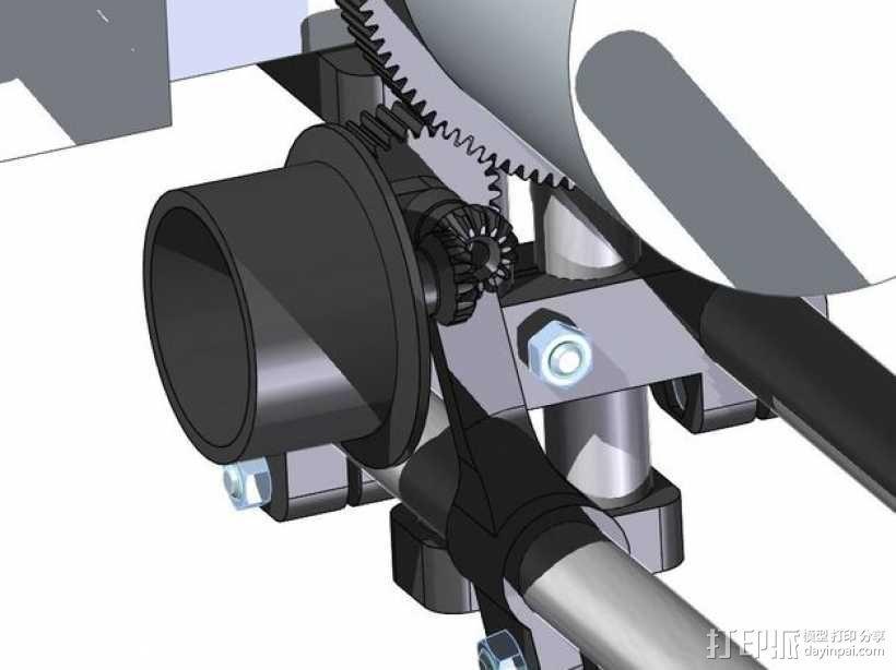 相机固定装置 相机架 3D模型  图11