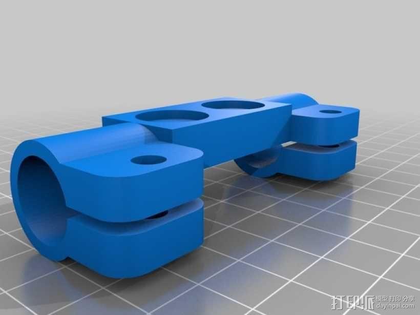 相机固定装置 相机架 3D模型  图14