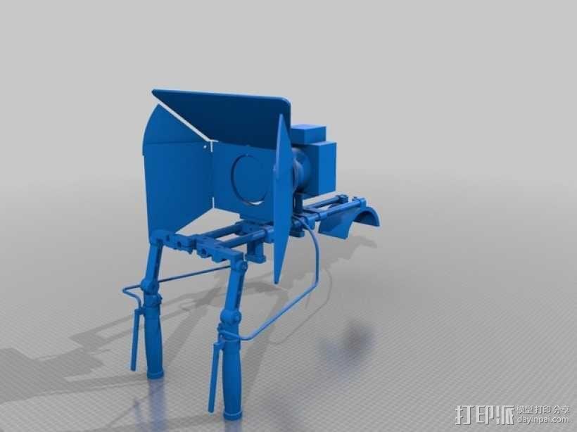 相机固定装置 相机架 3D模型  图15