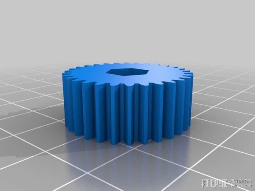 相机固定装置 相机架 3D模型  图19